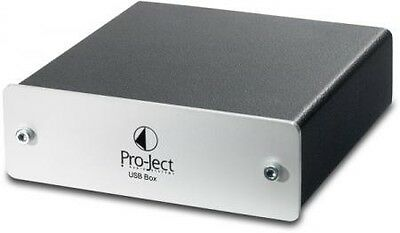 Pro-Ject USB Box Externe Soundkarte (Sigma-Delta D/A-Wandler, USB-Eingang)