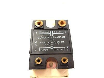 New Gordos Gb-15205-2  Solid State  Relay Gb152052