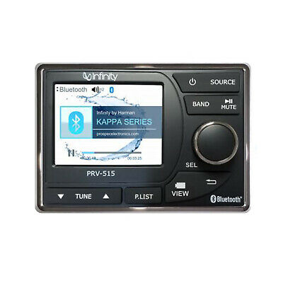 New KMR-D765BT Kenwood Marine Bluetooth CD/MP3 USB iPod iPhone Pandora Receiver