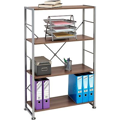 Bookcase with 4 Shelves Storage Furniture for Home Office - Piranha Ballan PC12w