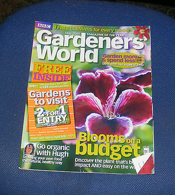 Gardeners' World May 2009 - Blooms On A Budget/go Organic With Hugh