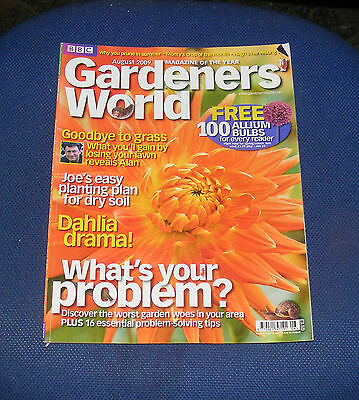 Gardeners' World August 2009 - What's Your Problem?/dahlia Drama!