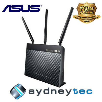 New AU Asus RT-AC68U Dual Band Wireless AC1900 Gigabit Router