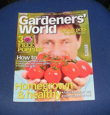 Gardeners' World March 2008 - Homegrown & Healthy/spring Pots To Plant Now
