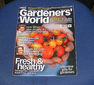 Gardeners' World February 2006 - Fresh & Healthy/why It's Time We Change