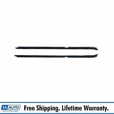 Window Sweeps Felts Outer Seals Pair Set of 2 for Buick Regal Oldsmobile Cutlass
