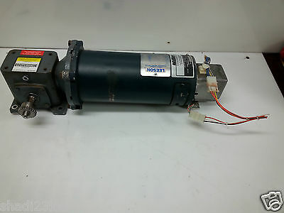 Leeson Direct Current Permanent Magnet Motor C42D28NC5B 1HP 098155.00