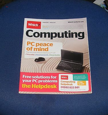 Which? Computing August 2013 - Pc Peace Of Mind