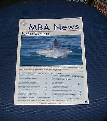M.b.a. News Number 36 - October 2006 - Sunfish Sightings