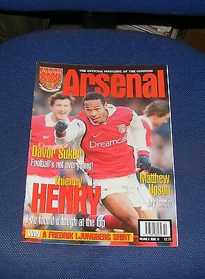 Arsenal - The Official Magazine Volume 3 Issue 10 - Thierry Henry/Davor Suker