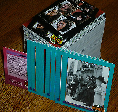 * *229 MINT BEATLES RIVER GROUP FULL SET w/ 8 CLASSIC HITS INSERTs + PROMO CARD!