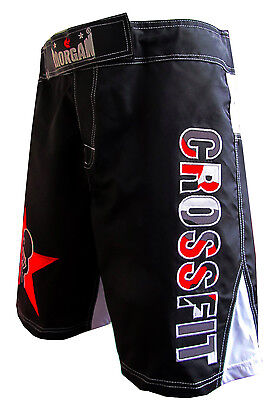 Mens Black Crossfit Training Shorts Workout Mma Gym Fitness Cross Fit Rogue