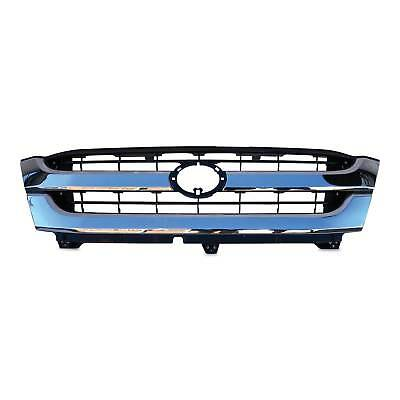 Toyota Hilux Grill 01 - 05 Chrome & Black Twin Bar Style Grille