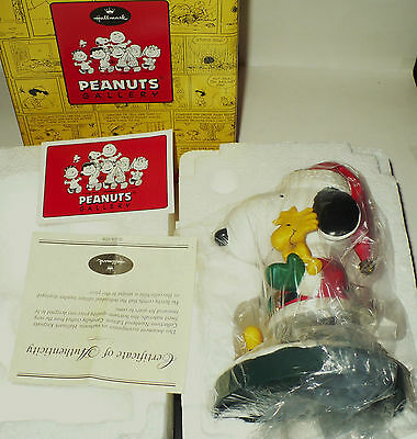 2001 Hallamrk Peanuts Gallery Figure Snoopy The Peanutcracker # Edition Mib