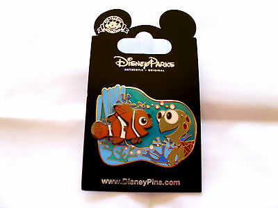 Disney * NEMO & SQUIRT - FINDING NEMO * New on Card Character Trading Pin