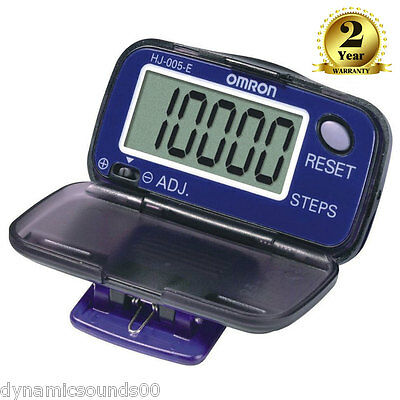 OMRON HJ005-E Vital Steps Slim Light Weight Accurate Step Counter Pedometer