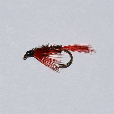 Red Diawl Bach Trout & Grayling Wet Fly fishing flies-  Dragonflies