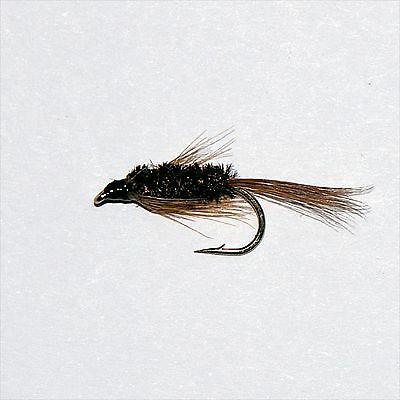 Diawl bach trout flies 6 pack red diawl bach choice of for Sacramento bee fishing line