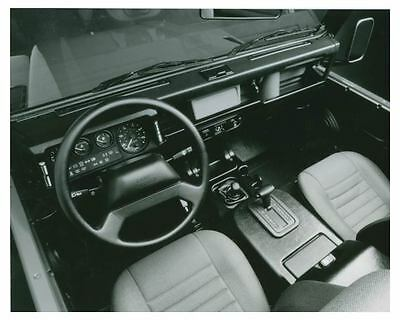 1997 Land Rover Defender 90 Station Wagon Interior Photo Poster zch4221