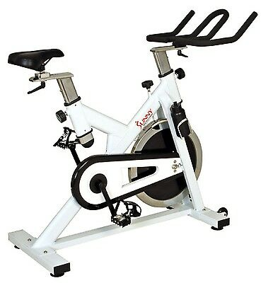 Sunny Indoor Cycling Stationary Cycle Upright Exercise Bike 44lb Flywheel NEW