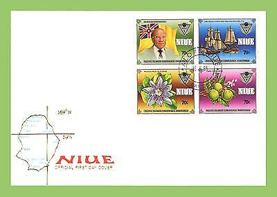 Niue 1985 Pacific Islands Conference set First Day Cover
