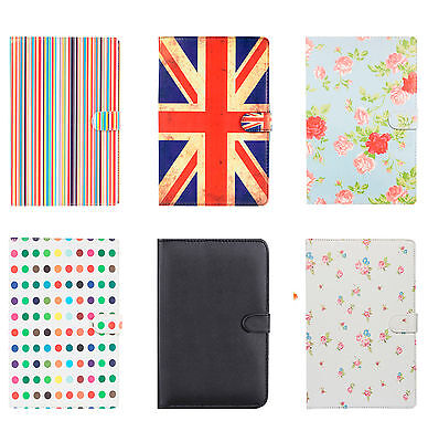 Stylish Folio Leather Carry Case Cover Stand for Samsung Galaxy Tab 2 3 & A 10.1