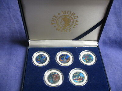 2000 The Morgan Mint Colorized Painted State Hood Quarters Inaugural Edition