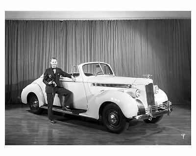 1940 Packard 110 Convertible Coupe Automobile Photo Poster zuc6144