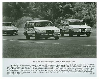 1987 Volvo 740 Turbo Wagons Photo Poster zch4303