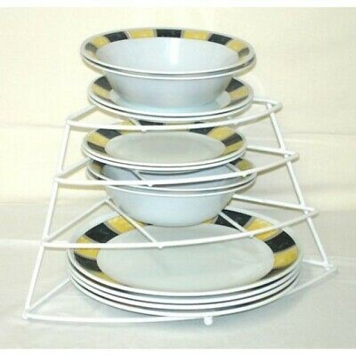 Corner Plate Rack for Caravans and RV's