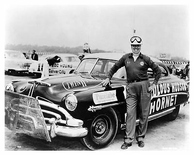 1953 Hudson Hornet Marshall Teague NASCAR Photo c5591-BTC8SE