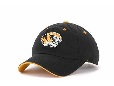 low priced 0de21 50648 Missouri Tigers MIZZOU NCAA Crew Black Adjustable Hat Cap SEC Tiger Head  Logo MO