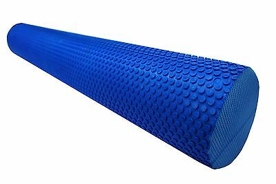 90X15Cm Eva Foam Roller Pilates Massage Physio Fit Yoga Exercise Trigger Point