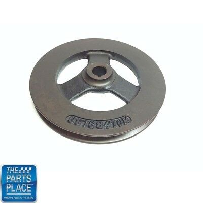 1965-68 Chevrolet Cast 1 Groove Power Steering Pulley - GM 3873847