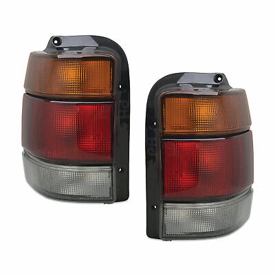 Holden Commodore VN VP VR VS Wagon Ute Smokey / Tinted Pair Tail Lights New