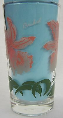 Orchid Peanut Butter Glass Glasses Drinking Kitchen Mauzy 78-1
