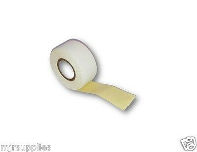 WHITE CLOTH HINGING LINEN TAPE 25mm x 5.5m roll, BOOK REPAIRS