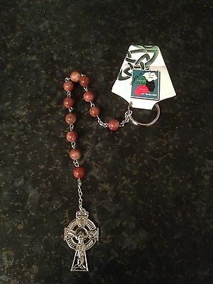 Hand Crafted Cork Marble Penal Rosary