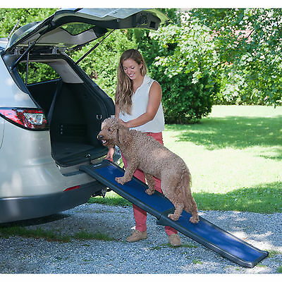 Pet Gear Travel-Lite Blue Slip-resistant Plastic Full Pet Ramp