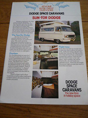 DODGE SUN TOR  BROCHURE jm