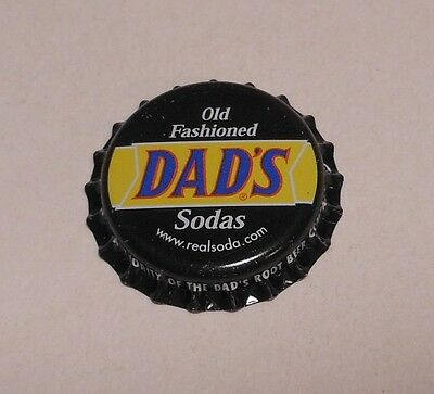 "Vintage Dads ""Old Fashioned Sodas""..plastic..unused..Soda Bottle Cap"