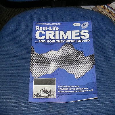 Real Life Crimes Number 16 - The Night Stalker/peter Hogg/graham Backhouse
