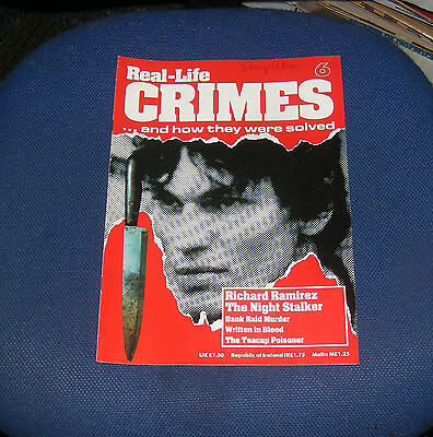 Real Life Crimes Number 6 - Richard Ramirez The Night Stalker/graham Young
