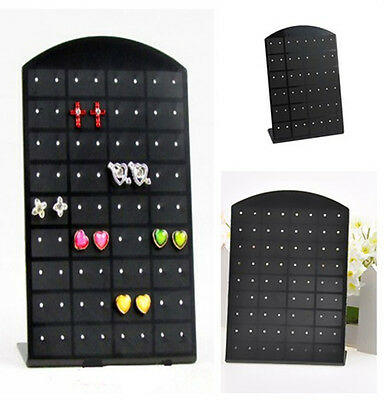 36 pairs Earrings Display Stand Organizer Jewelry Holder ShowCase Tool Rack x1