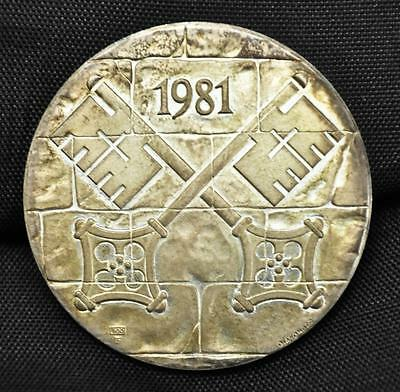 1981 French Catholic Silver Medal
