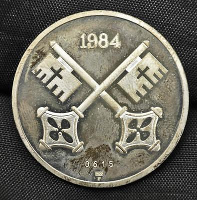 1984 French Catholic Silver Medal