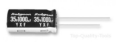 5 X Electrolytic Capacitor, Miniature, 47 µF, 25 V, YXF Series, ± 20%, Radial Le
