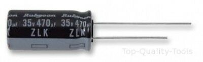 Electrolytic Capacitor, Miniature, 1500 µF, 16 V, ZL Series, ± 20%, Radial Leade