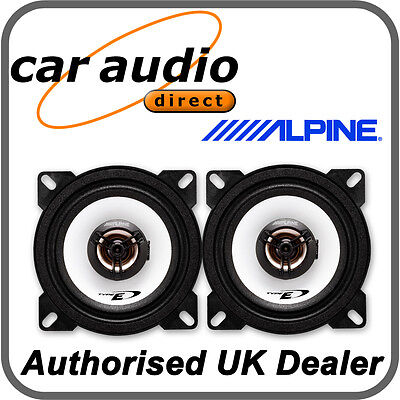 "ALPINE SXE-1025S 10cm 4"" 180W Car Radio Stereo Audio Speakers Door Shelf New"