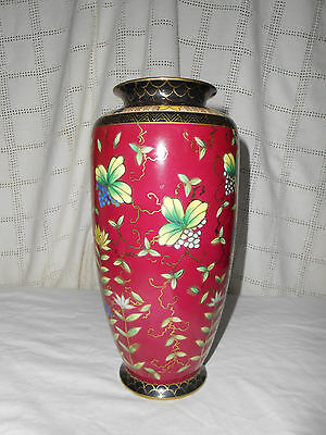 Lovely Asian Imari vase, hand painted floral pattern